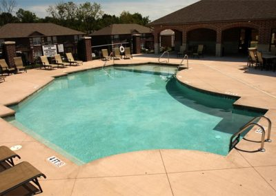 Gunite Commercial Pool