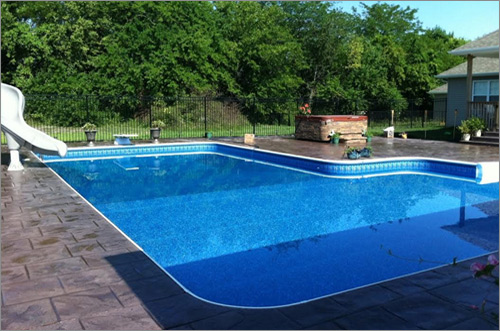 Sloped Terrain Is No Longer A Problem With Varied Sizes Shapes And Installation Options This Pool Gives You The Backyard Want At Reasonable Price