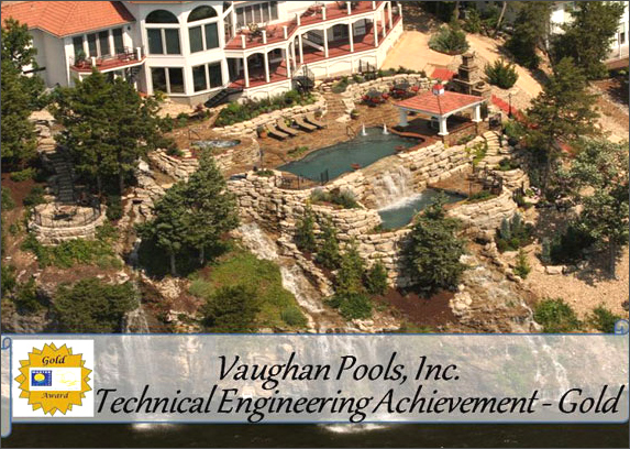 Awards-Vaughan Pools & Spas of Columbia, Jefferson City